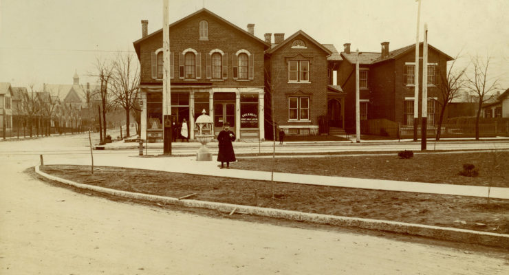 fifth and huffman streets 1900