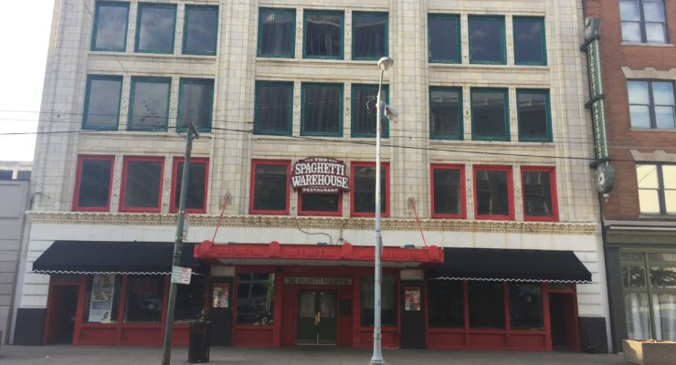 spaghetti warehouse building downtown dayton