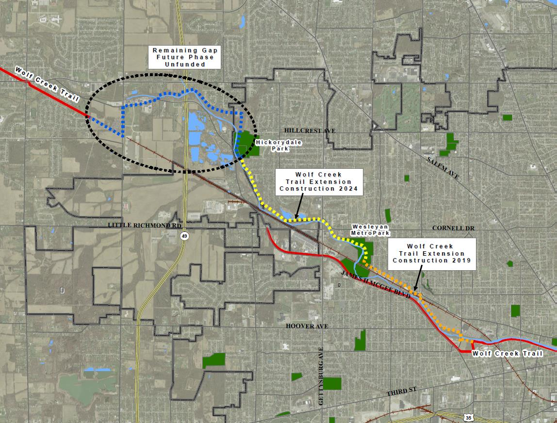 the miami valley's world-class bike trail system